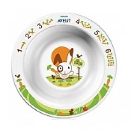 Avent глубокая тарелка малая. 6 мес+