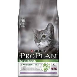 Pro Plan корм для стерилизованных кошек индейка и рис, 10 кг