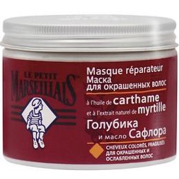 "Le Petit Marseillais масло ""Голубика и масло сафлора"" для окрашенных волос, 300 мл"