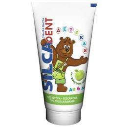 """Silca зубная паста """"Dent. Яблоко"""" детская, 65 г"""