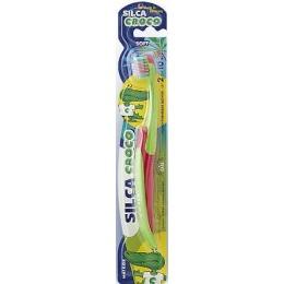 """Silca зубная щетка """"Croco"""" на подставке"""