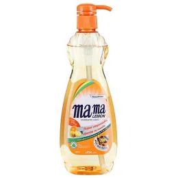 """Mama Lemon гель для мытья посуды и детских принадлежностей """"Антибактериальный"""" концентрированный"""