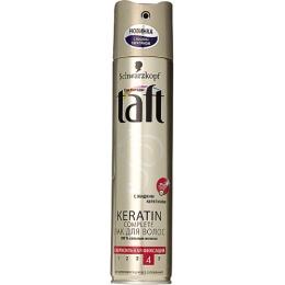 """Taft лак для волос """"Keratin Complete"""" сверхсильная фиксация, 225 мл"""
