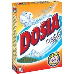 """Dosia стиральный порошок """"Альпийская свежесть"""""""