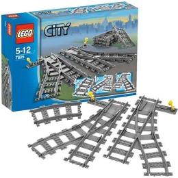 """Lego конструктор """"Город. Железнодорожные стрелки"""""""