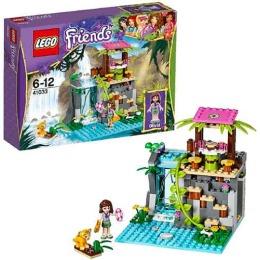 "Lego конструктор ""Подружки. Джунгли. Спасение тигренка у водопада"""