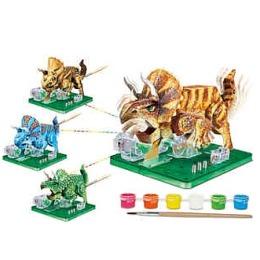 """Amazing научный опыт """"Динозавр"""" на батарейках"""