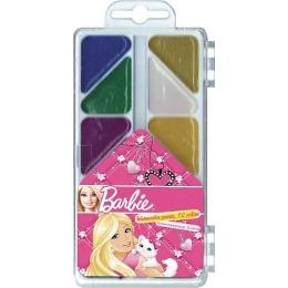 Barbie акварель, 6 цветов