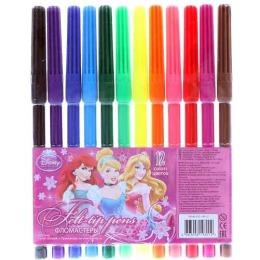 Princessa фломастеры цветные, 6 шт