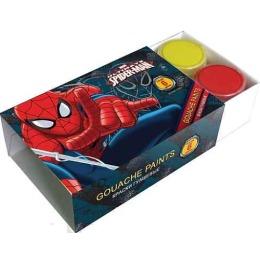 "Spider-man краски гуашевые ""Classic"", 6 цветов"