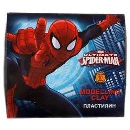 "Spider-man пластилин ""Classic"", 200 г, 10 цветов"