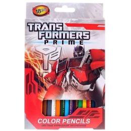 "Transformers карандаши цветные ""Prime"" заточенные, 18 шт"