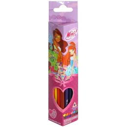 Winx Fashion карандаши цветные, треугольные, 12 шт