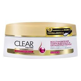 """Clear маска для волос """"Восстановление поврежденных волос"""", 200 мл"""