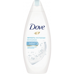 """Dove крем-гель для душа """"Легкость кислорода"""", 250 мл"""