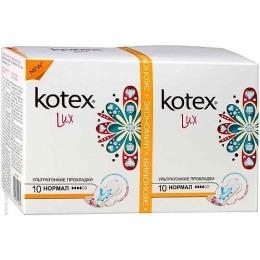 "Kotex прокладки гигиенические ""Lux. Dry. Normal"""