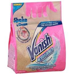 """Vanish Oxi action порошок для чистки ковров """"Чистота и свежесть"""" увлажненный"""