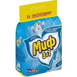 """Миф порошок стиральный """"Морозная свежесть"""" автомат"""