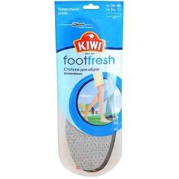 Kiwi стельки дезодорирующие, с активированным углем