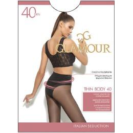"Glamour колготки женские ""Thin body 40"" daino"