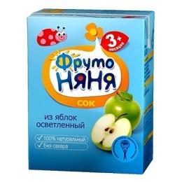 """Фруто Няня сок """"Яблоко"""" с 3 месяцев"""
