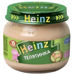 """Heinz пюре """"Телятинка"""" с 6 месяцев"""