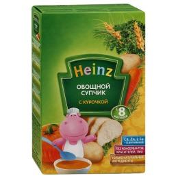 Heinz супчик овощной с курочкой, с 8 месяцев
