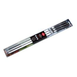 Forester шампуры c дерев ручками 60 см