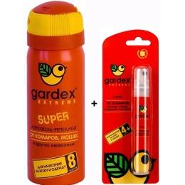 """Gardex аэрозоль от насекомых """"Экстрим"""" + спрей"""