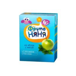 "Фруто Няня напиток ""Яблоки с мятой"" с 6 месяцев, 200 мл"