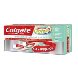"""Colgate зубная паста """"Total12.  Профессиональная чистка"""" гель"""
