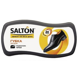 """Salton губка """"Волна"""" для гладкой кожи, тон черный"""
