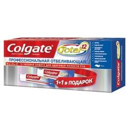 """Colgate зубная паста """"Total12. Отбеливающая."""" профессиональная"""