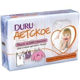 """Duru хозяйственное мыло """"Clean & White"""" для стирки детского белья"""