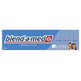 """Blend-a-med зубная паста """"3-Эффект Деликатное отбеливание"""", 100 мл"""
