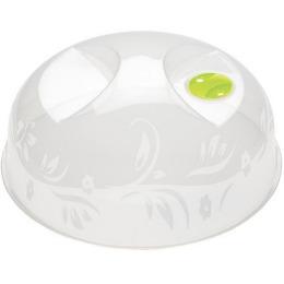 Бытпласт крышка для микроволновой печи и холодильника, d-23 см