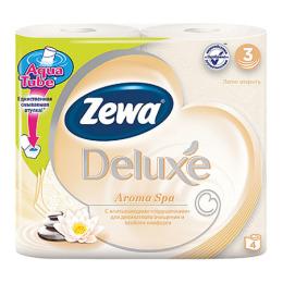 "Zewa бумага туалетная ""Делюкс. Аромаспа"" 3 слойная"