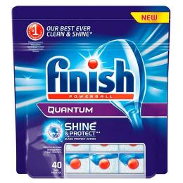 "finish таблетки для посудомоечных машин ""Quantum. Power Ball. Shine& Protect"""