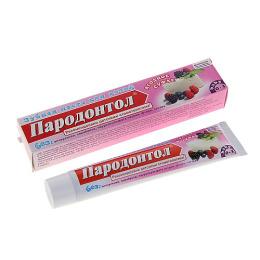 """Свобода зубная паста """"Пародонтол Bebi"""" 0-3 года, ягодное суфле, антибактериальная"""