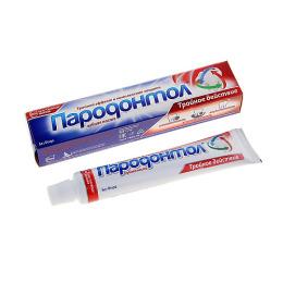 """Свобода зубная паста """"Пародонтол тройное действие"""""""