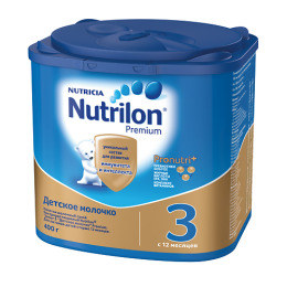 "Nutrilon сухое детское молочко ""Premium 3"", 400 г"