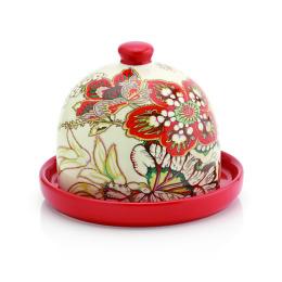 Smakfest лимонница 11 х 11 х 9.5 см облегченная керамика серия цветочная фантазия