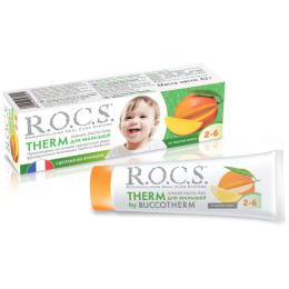 R.O.C.S. зубная паста для детей от 2 до 6 лет со вкусом манго