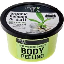 """Organic Shop пилинг для тела """"Тропический бамбук"""", 250 мл"""