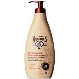 """Le Petit Marseillais молочко для тела """"Карите, алоэ и пчелиный воск"""" для очень сухой и поврежденной кожи, 250 мл"""