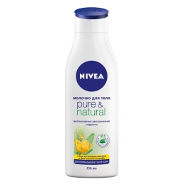 "Nivea молочко для тела ""Pure&Natural"", 250 мл"