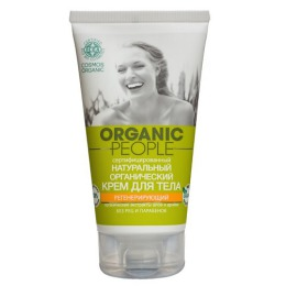 "Organic people Крем для тела ""регенерирующий "", 150 мл"