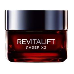 "L'Oreal крем для лица ""RevitaLift Лазер X3"" дневной, 50 мл"