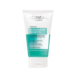 """L'Oreal гель для умывания """"DERMO-EXPERTISE ТРИО АКТИВ"""" для нормальной и смешанной кожи, 150 мл"""