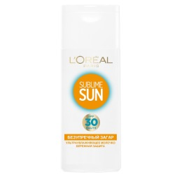 L'Oreal солнцезащитное молочко для чувствительной кожи спф 30 200 мл